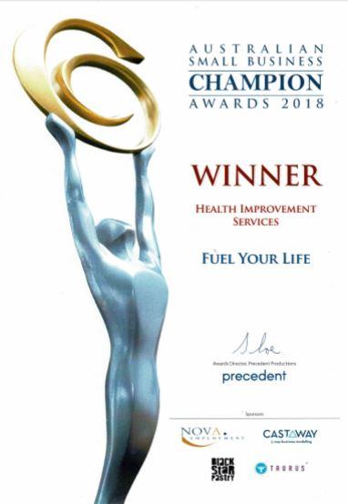 Best Australian Health Improvement business